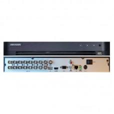 DVR 16 canale, 2 Megapixeli, H265+ Hikvision DS-7216HQHI-K1