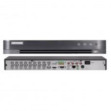 DVR 16 canale H.265+ Hikvision DS-7216HQHI-K2/16A