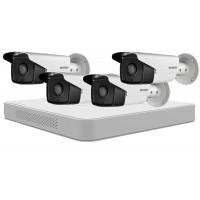Sistem supraveghere video Hikvision 4 camere HD 720P, IR40M
