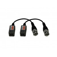 Video balun ND-202HD,(FULLHD) 1 canal pasiv  HDTVI/HDCVI/AHD, set 2 bucati