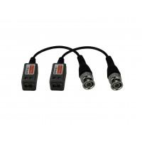 Video balun ND-202HD,(FULLHD) 1 canal pasiv  HDTVI/HDCVI/AHD, set 2 bucati