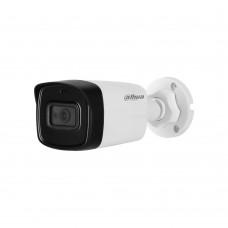 Camera bullet HDCVI Dahua HFW1500TL-A 5MP, 3.6mm, IR 40m, IP67, microfon incorporat HAC-HFW1500TL-A