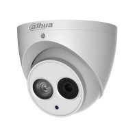 Camera dome IP Dahua IPC-HDW4831EM-ASE 4K 8MP, 2.8mm, IR 50m, IP67, ePoE, functii IVS, WDR 120dB, microfon incorporat