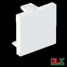 Capac fals pentru aparataj 45x45 mm (2 module) - DLX DLX-245-48