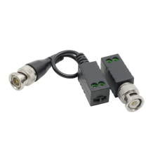 Video balun pasiv HD  (pret/set 2 buc.) - HIKVISION DS-1H18S-E-E