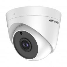 Camera de supraveghere Hikvision Turbo HD Dome 5MP, IR 20M DS-2CE56H0T-ITPF28