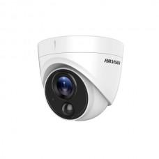 Camera 2MP, lentila 2.8mm, PIR integrat si Alarma vizuala cu lumina alba - HIKVISION DS-2CE71D0T-PIRL-2.8mm