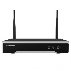 NVR Wi-Fi 4 canale 4MP - HIKVISION DS-7104NI-K1-WM
