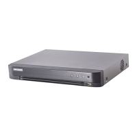 DVR 4 canale video 2mp FullHD, AUDIO HDTVI over coaxial - HIKVISION DS-7204HQHI-K1(S)