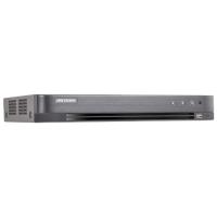 DVR 4K, 4 canale video 8MP, 4 canale AUDIO HDTVI HIKVISION DS-7204HTHI-K1(S)