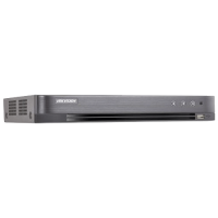 DVR 4 canale. video 5MP, 1 canal audio - HIKVISION  DS-7204HUHI-K1-E