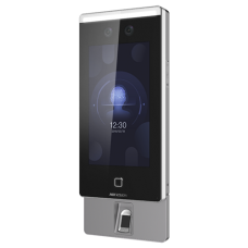 Terminal standalone IP de control acces si pontaj cu recunoastere faciala, amprenta si Card- HIKVISION