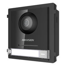 Modul Master pentru Interfonie modulara echipat cu camera video 2MP fisheye si un buton apel  - HIKVISION DS-KD8003-IME1