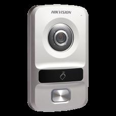 Panou exterior videointerfon TCP/IP pentru 1 familie, control acces integrat - HIKVISION DS-KV8102-IP