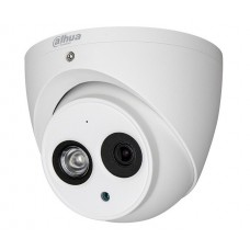 Camera supraveghere Dome Dahua, 4 MP, IR 50 m, 3.6 mm, microfon incorporat