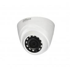 Camera HDCVI Dahua HAC-HDW1400R de tip dome, 4MP, Smart IR 20m, 3.6mm, DWDR