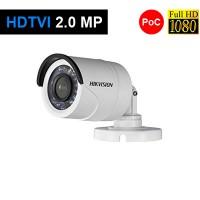 Camera 2MP Exterior, IR 20m, POC, lentila 3.6 - HikVision DS-2CE16D0T-IRE