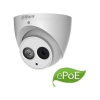 Camera de supraveghere Dahua IP Dome 6MP, H.265+, 3.6mm, IR50m, MicroSD, IP67, ePoE, Microfon incorporat