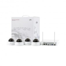 KIT WIFI 4 camere Dome 2MP + NVR - UNV KIT-322F28W-4D