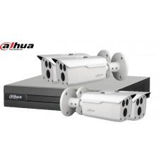 Sistem supraveghere DAHUA 4 camere 1080P, IR80