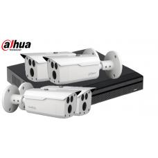 Sistem supraveghere DAHUA 4 camere 4 MP, IR80