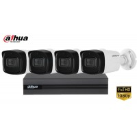 Sistem supraveghere Dahua 4camere, 2MP Full HD 1080P, IR 40m