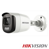 Camera bullet Turbo HD 5.0 DS-2CE10DFT-F 2MP ColorVU, 3.6mm, IP67, IR WHITE 20m, WDR 120dB