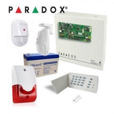 Kit alarma Paradox cu centrala Spectra SP4000 KIT SP4000 2N-INT
