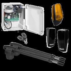 Kit automatizare poarta batanta 2x3m -MOTORLINE LINCE400-24V-KIT