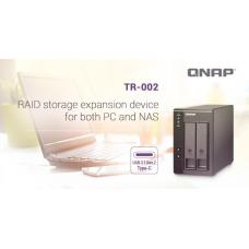 RAID USB QNAP TR-002 2BAY SATA TWR