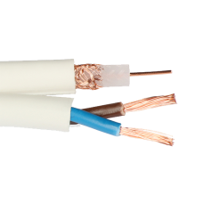 Cablu coaxial RG59 + alimentare 2x0.75, 305m RG59+2x0.75