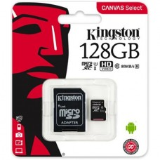 Card de memorie SD 128Gb Kingstone Clasa 10