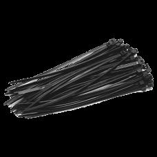 Coliere de plastic NEGRE, 140x3,5 (100 buc.) SEL.3.210