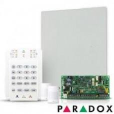 Kit alarma antiefractie Paradox Spectra SP4000 cu cutie cu traf + K10 + 2x 476+, 4 zone, 2 partitii, 256 evenimente