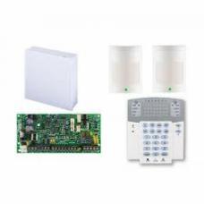 Kit alarma antiefractie Paradox Spectra SP4000 cu cutie cu traf + K32LED + 2x 476+, 4 zone, 2 partitii, 256 evenimente