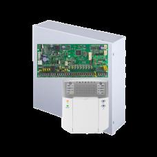 Kit alarma antiefractie Paradox Spectra SP6000+K32, 2 partitii, 8-32 zone, 32 utilizatori, cutie cu traf