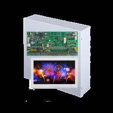 Kit alarma antiefractie Paradox Spectra SP6000+TM70, carcasa metalica cu traf, 8 zone, 2 partitii
