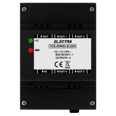 Doza derivatie video, 4 iesiri SMART - ELECTRA VCB.4DN02.ELG04