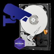 Hard disk 4TB -WD PURPLE WD40PURX
