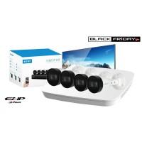 Kit supraveghere video IP complet, FULL HD, IR 30 metri, DAHUA , HDD 500 GB