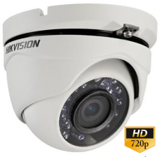 Camera de supraveghere TurboHD 1MP, Ir 20m, dome DS-2CE56C0T-IRM
