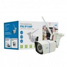 Camera supraveghere video PNI IP11MP 720p wireless cu IP de exterior si interior