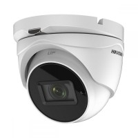 Camera supraveghere Dome Hikvision TurboHD 4.0 DS-2CE56H0T-IT3ZF, 5MP, IR 40 m, 2.7 - 13.5 mm, zoom motorizat