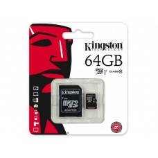 Card de memorie microSD 64Gb Kingstone Clasa 10
